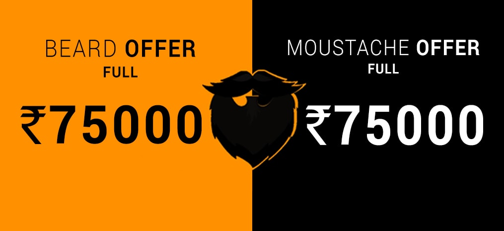 Beard & Moustache Offer